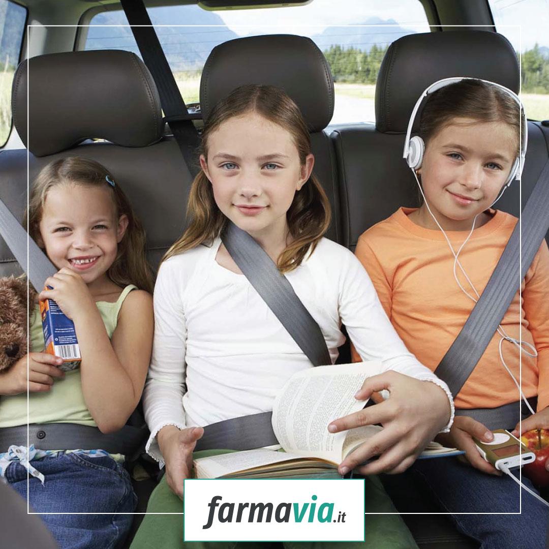 Un bambino su 3 ha il mal d'auto, sai perché?