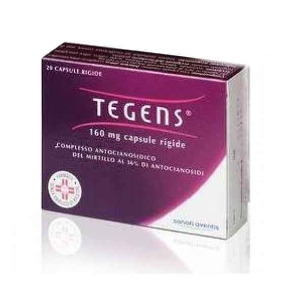 Tegens 160mg da 20 capsule per la fragilità capillare  41f6a57e2085