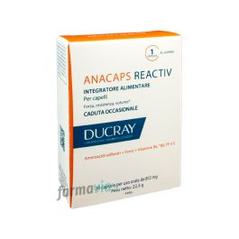 ducray anacaps reactiv 30 capsule per capelli forti. Black Bedroom Furniture Sets. Home Design Ideas
