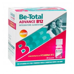 BE-TOTAL ADVANCE B12 DA 30 FLACONCINI