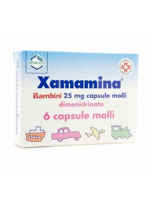 XAMAMINA BAMBINI 6 CAPSULE