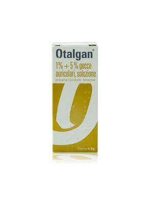 OTALGAN 1% + 5% GOCCE AURICOLARI DA 6G
