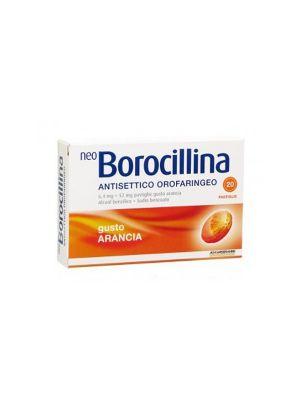 NEOBOROCILLINA ANTISETTICO OROFARINGEO GUSTO ARANCIA 20 PASTIGLIE