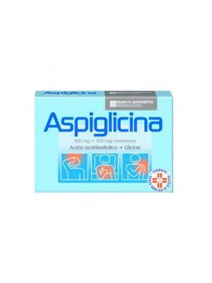 ASPIGLICINA 24CPR 300MG+300MG
