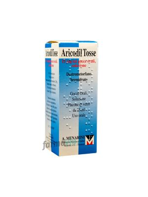 ARICODIL TOSSE 15MG/ML GOCCE ORALI DA 25ML