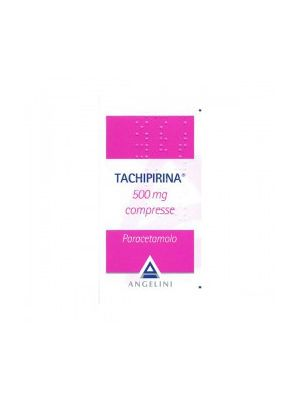 TACHIPIRINA 10CPR 500MG