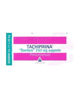 TACHIPIRINA 10 SUPPOSTE DA 250MG