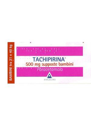 TACHIPIRINA BAMBINI 10 SUPPOSTE DA 500MG
