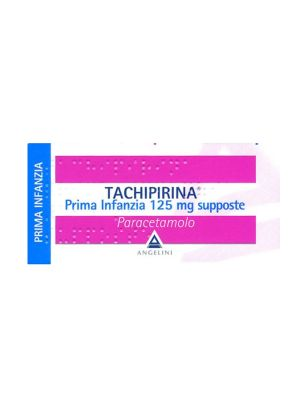 TACHIPIRINA PRIMA INFANZIA 10 SUPPOSTE DA 125MG