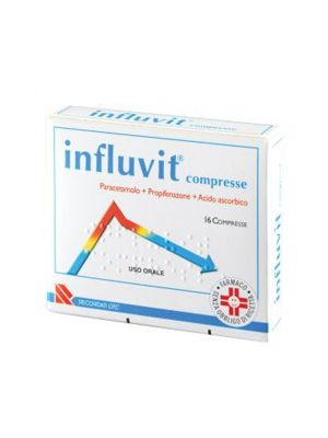 INFLUVIT 16CPR 150+300+150MG