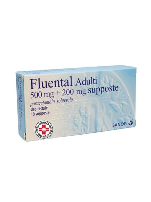 FLUENTAL ADULTI 10SUPP 500MG+200MG