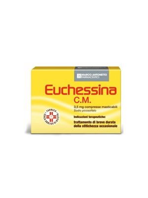 EUCHESSINA C.M. DA 18 COMPRESSE MASTICABILI
