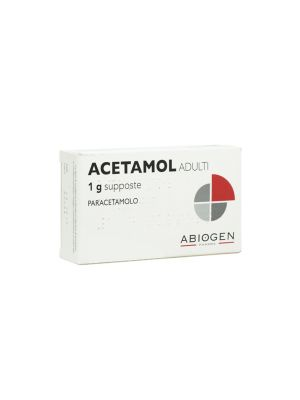 ACETAMOL ADULTI 1 G 10 SUPPOSTE