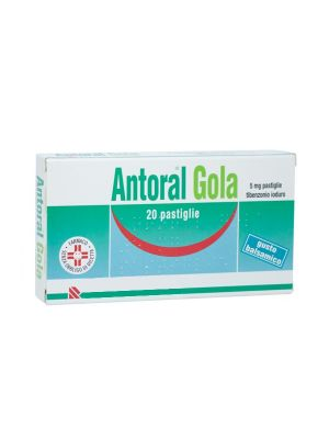 ANTORAL GOLA 20PAST 5MG BALSAM