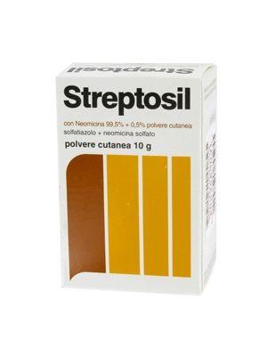 STREPTOSIL CON NEOMICINA 99.5% + 0.5% POLVERE CUTANEA 10G