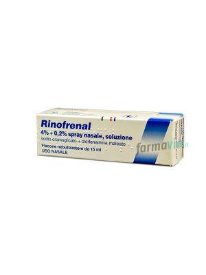 RINOFRENAL 4%+0,2% SPRAY NASALE SOLUZIONE 15ML