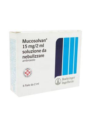 MUCOSOLVAN 6 FIAE DA 15MG/2ML SOLUZIONE DA NEBULIZZARE