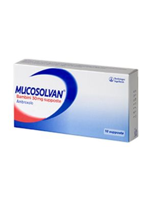 MUCOSOLVAN BAMBINI 10 SUPPOSTE DA 30MG