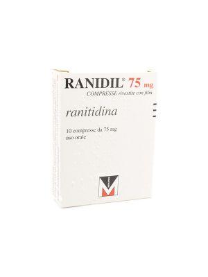 RANIDIL 75MG DA 10 COMPRESSE RIVESTITE