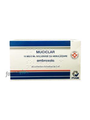 MUCICLAR 15MG/2ML SOLUZIONI DA NEBULIZZARE 30 CONTENITORI