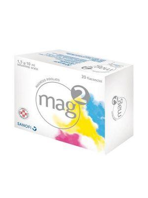 MAG 2 - 20 FLACONCINI DA 1,5G/10ML SOLUZIONE ORALE