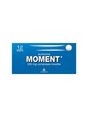 MOMENT 12 COMPRESSE RIVESTITE DA 200MG