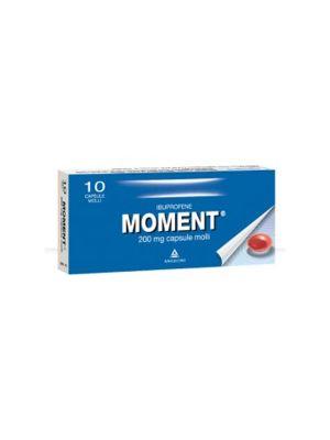MOMENT 10 CAPSULE MOLLI DA 200MG