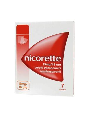 NICORETTE 15MG/16ORE DA 7 CEROTTI