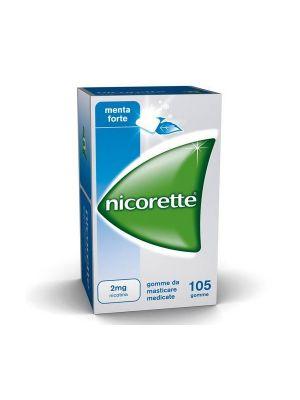 NICORETTE 2MG - 105 GOMME DA MASTICARE AL GUSTO DI MENTA