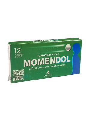 MOMENDOL 12 COMPRESSE RIVESTITE DA 220MG
