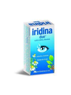 IRIDINA DUE 0,5MG/ML COLLIRIO, SOLUZIONE 10ML