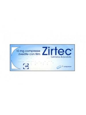 ZIRTEC 7 COMPRESSE RIVESTITE 10MG