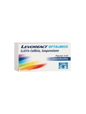 LEVOREACT 0,05% OFTALMICO COLLIRIO SOSPENSIONE 4ML
