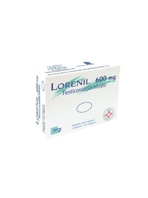 LORENIL 600MG 1 CAPSULA VAGINALE