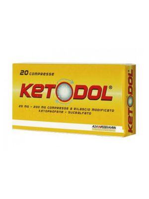 KETODOL 25MG+200MG DA 20 COMPRESSE