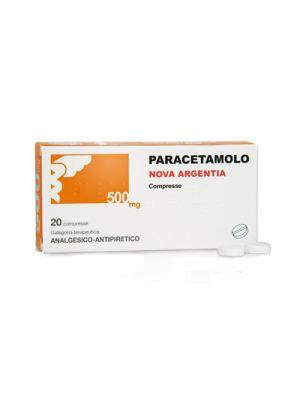 PARACETAMOLO NOVA ARGENTA 20 COMPRESSE DA 500MG