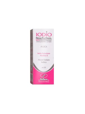 IODIO SOL ALCO II 20ML 2%/2,5%