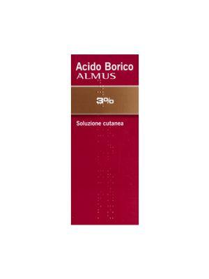 ACIDO BORICO ALMUS 3% 500ML