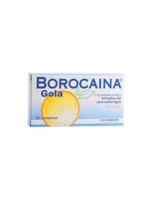 BOROCAINA GOLA 20PAST1,5MG ARA