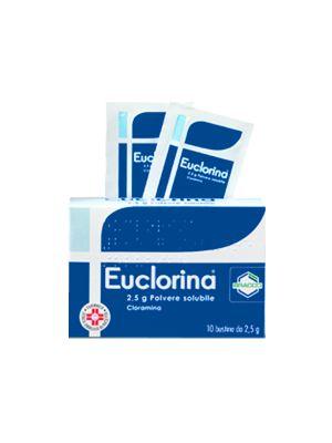 EUCLORINA POLVERE SOLUBILE 10 BUSTINE DA 2,5G