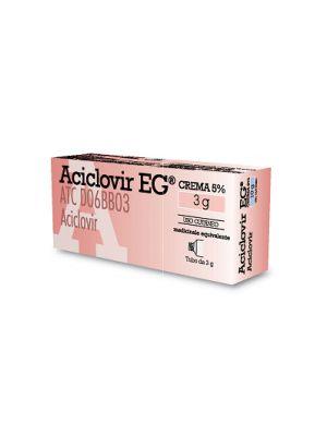 ACICLOVIR EG CR 3G 5%