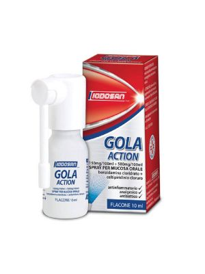 IODOSAN GOLA ACTION SPRAY ORALE DA 10ML