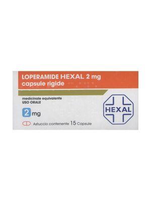 LOPERAMIDE HEXAL 15 CAPSULE DA 2MG