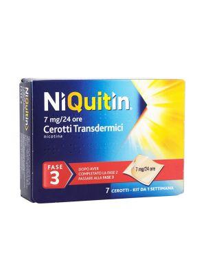 NIQUITIN 7 CEROTTI TRANSDERMICI 7MG/24H