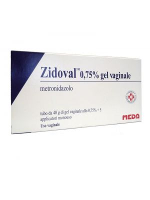 ZIDOVAL 0,75% GEL VAGINALE 40G