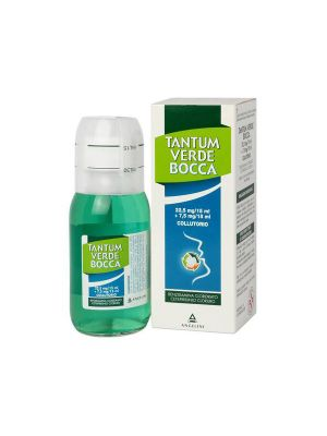 TANTUM VERDE BOCCA 22,5+7,5MG COLLUTORIO DA 120ML
