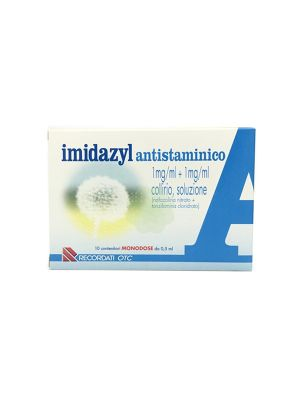 IMIDAZYL ANTISTAMINICO 1MG/ML+1MG/ML COLLIRIO, 10 CONTENITORI DA 0,5ML