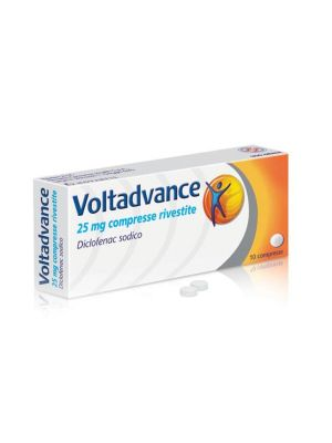 VOLTADVANCE 10 COMPRESSE RIVESTITE