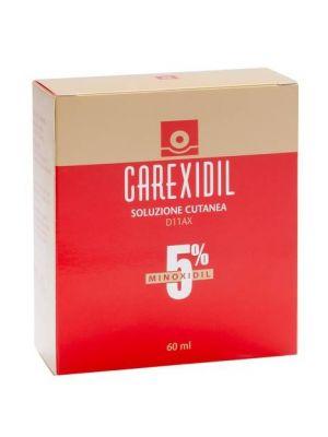 CAREXIDIL 5% SOLUZIONE CUTANEA DA 60ML
