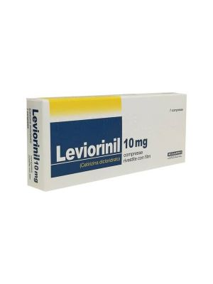 LEVIORINIL 7CPR RIV 10MG
